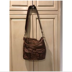 URBAN OUTFITTERS Brown Crossbody Purse